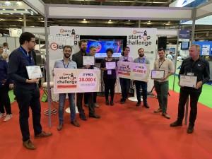 UniSwarm wint de hoofdprijs bij de Elektor Start-up Challenge in Parijs