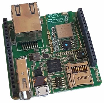 Arrow Quadro IoT kit