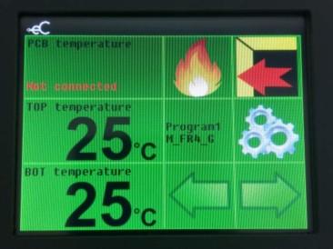Eurocircuits eC-reflow-mate touch screen