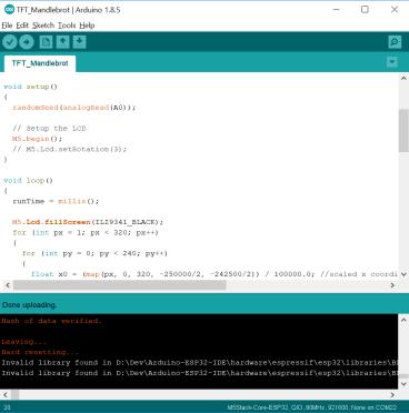 M5Stack Arduino IDE
