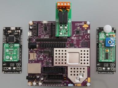 Creator Ci40 IoT Kit assembled