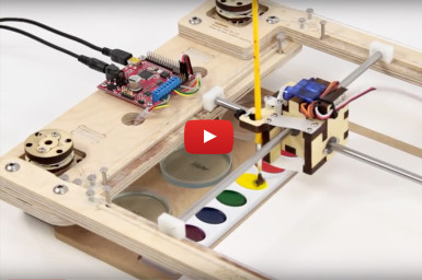 WaterColorBot Doubles as a STEAM Laboratory