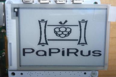Review: PaPiRus ePaper Screen HAT for Raspberry Pi