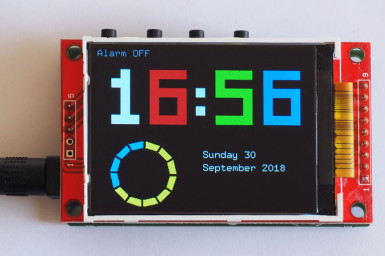 Review: A kit for the Elektor Alarm Clock with 3-way Display