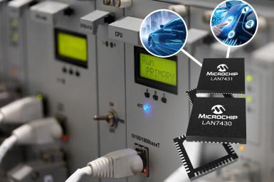 Microchip stellt die Ethernet Bridge LAN7430/1 vor