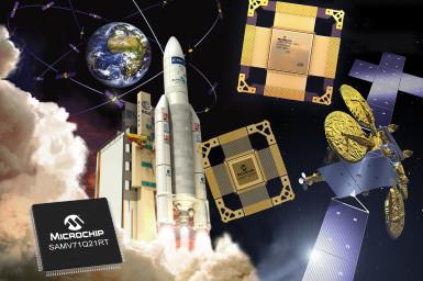 Weltraumanwendungen mit COTS-zu-strahlungstoleranten/strahlungsfesten Arm® Core MCUs skalieren