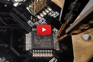 PCBite : mesure sur PCB en mains libres