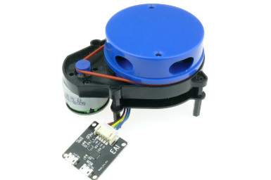 Banc d'essai : télémétrie à 360° abordable avec le détecteur YDLidar X4