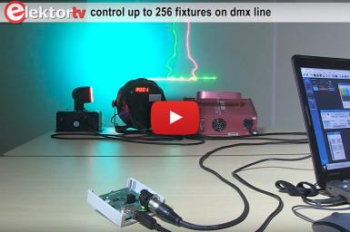 Convertisseur USB/DMX512 isolé (