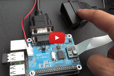 PiCAN 2 – CAN-Bus Board voor Raspberry Pi (OBDII)