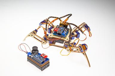 Crawling Quadruped Robot V2.0.