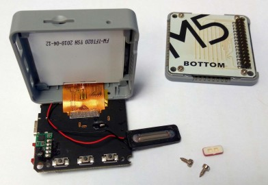 M5Stack disassembled