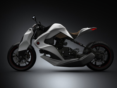 IZH Concept Hybrid Motorcycle: Cleaner, Safer