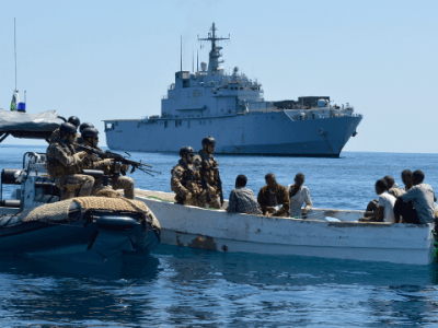 Fighting Piracy to Strengthen Europe's Energy Security