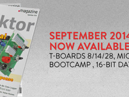 September Edition of Elektor Magazine Now Available