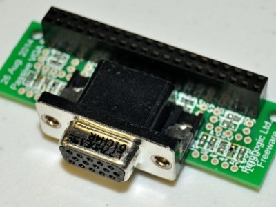Raspberry Pi VGA Adapter