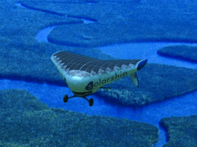 Solar Ship Needs No Fuel And No Infrastructure
