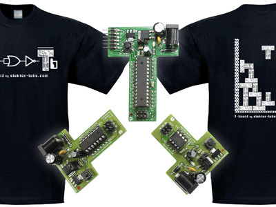 Elektor T-Boards & Exclusive T-Shirt Now Available