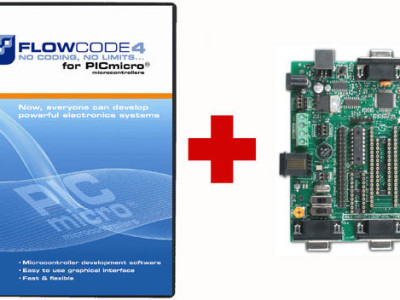 Final call! Free E-blocks PIC MultiProgrammer with Flowcode 4