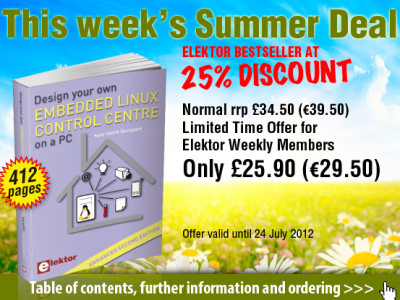 25% Discount on Enhanced 2nd Edition of Embedded Linux Book