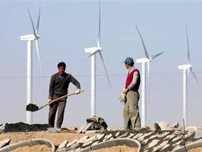 Wind power goes mainstream – and feels China breathing down its neck