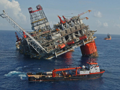 Oil Rig Disaster: Infographic