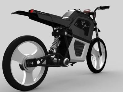V-Trek Zero Emission Motorcycle