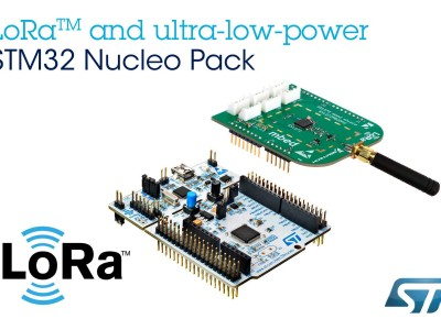 STMicroelectronics Empowers IoT-Developers with LoRa™ Kit Leveraging STM32 Microcontroller Ecosystem