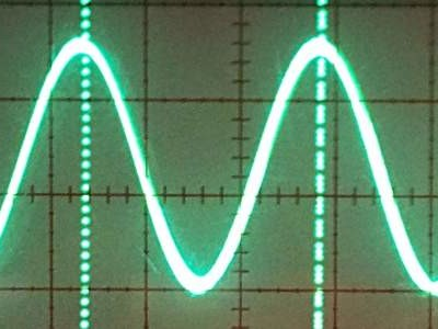 Build a 3-component sinewave oscillator for 1 euro / pound / dollar