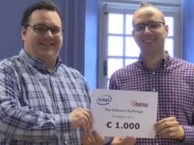 Grand prize for Edison Challenge Netherlands awarded