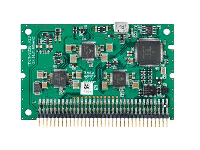 Miniaturized OEM plug-in stepper motor driver module