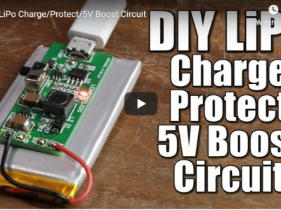 GreatScott! LiPo charger, booster & protector