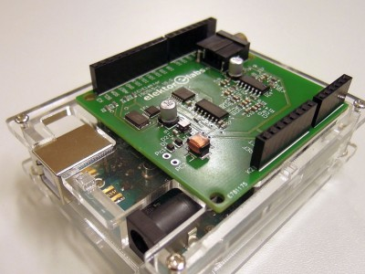 SDR shield for Arduino