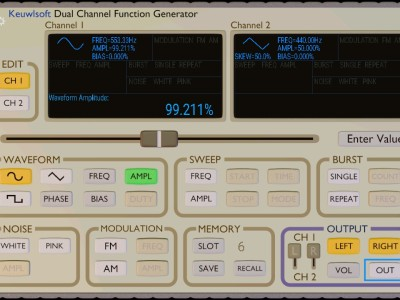 "Review: Function generator ""in the pocket"""