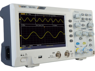 Review: Owon SDS1102 Budget Oscilloscope