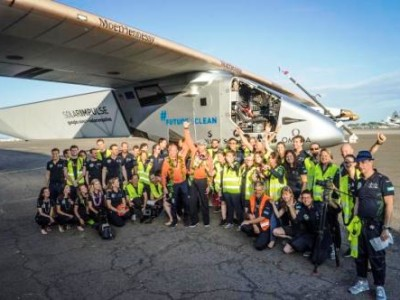 Battery Event Scuppers Solar Impulse