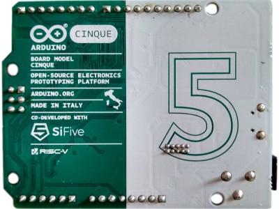 Cinque, the RISCy Arduino