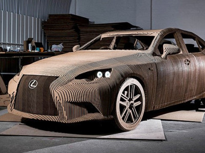 What's this: my insurance company won't accept a Lexus cardboard car