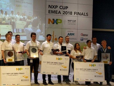 Review: NXP Cup EMEA 2018 Finals at the Fraunhofer IIS in Georg Ohm's birthplace
