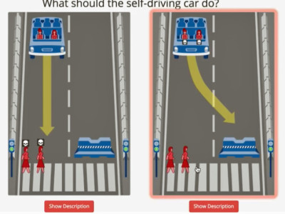 MIT survey to establish moral guidelines for autonomous vehicle control