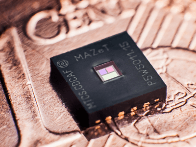 New color sensor guarantees defined, consistent LED light