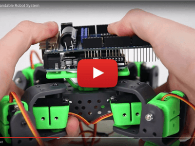 AllBot: Arduino-powered four-legged robot