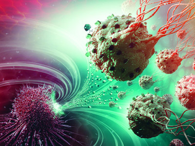 Nanobots vs. cancerous tumors