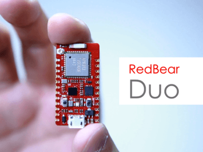GGRRRR -- The RedBear Duo IoT Dev Board
