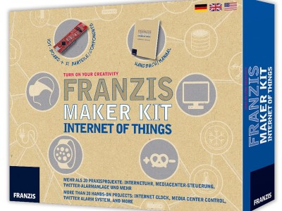 Turn on your creativity with the Internet of Things Maker Kit