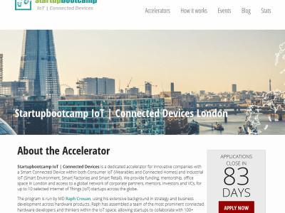 IoT accelerator programme for startups