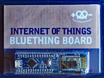 The Pretzel Board Bluething: now with Bluetooth