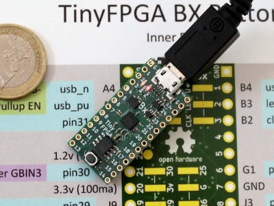 Review: TinyFPGA BX for open source FPGA development