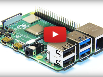 Raspberry Pi 4 : Fab Four... The start of a new journey!