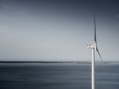 Record: 9-megawatt wind turbine